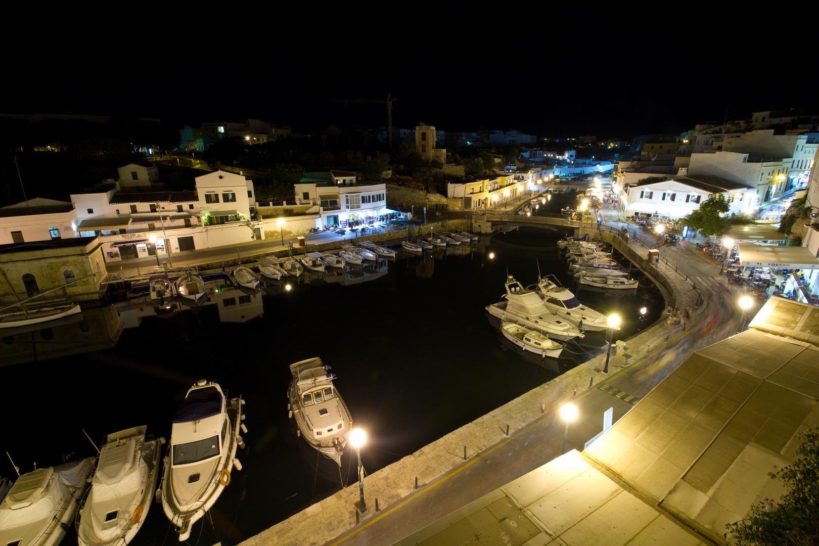 Menorca Impressionen - Ciutadella bei Nacht (97)