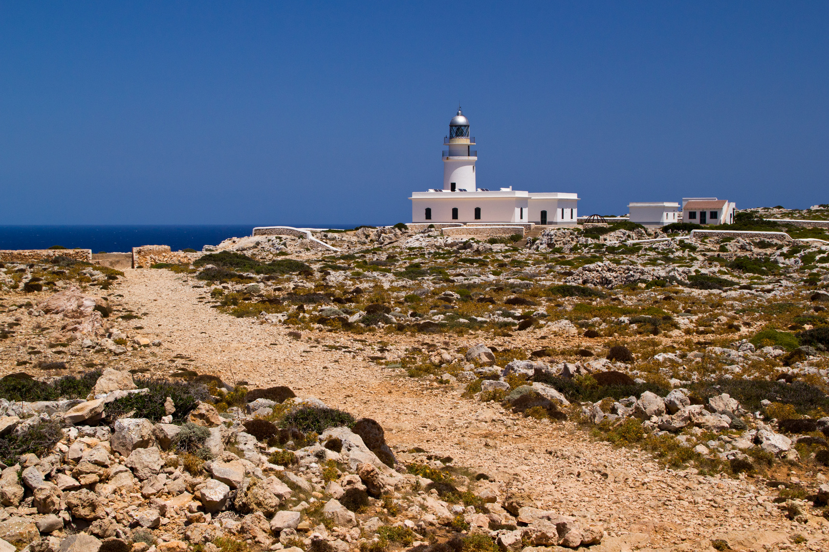 Menorca Impressionen - Leuchturm Cap de Cavalleria (130)