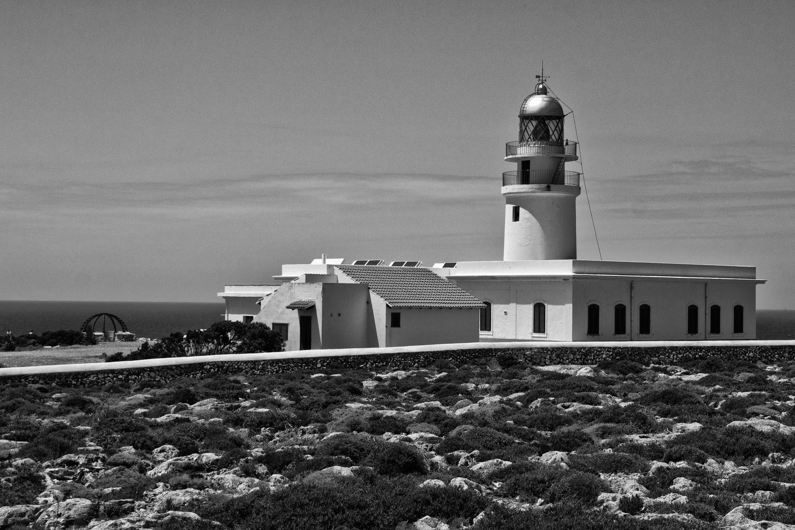 Menorca Impressionen - Leuchturm Cap de Cavalleria