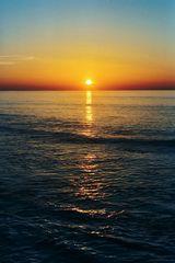 Menorca Sonnenuntergang ohne Filter