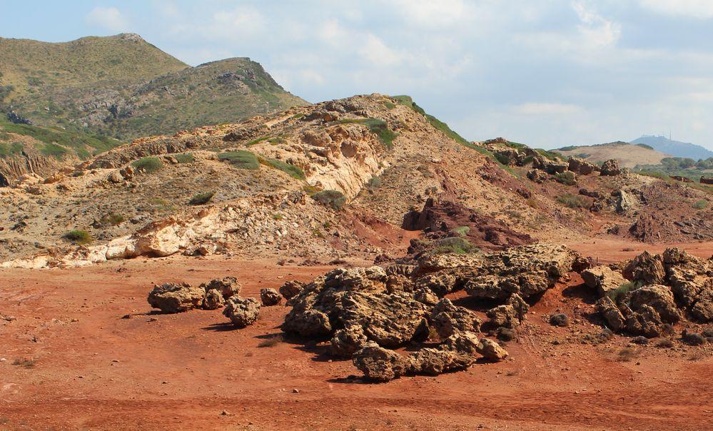 Menorcas rote Erde
