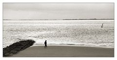 Mensch am Meer ...