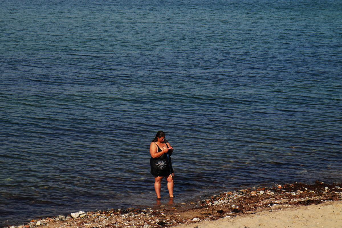 Mensch am Meer