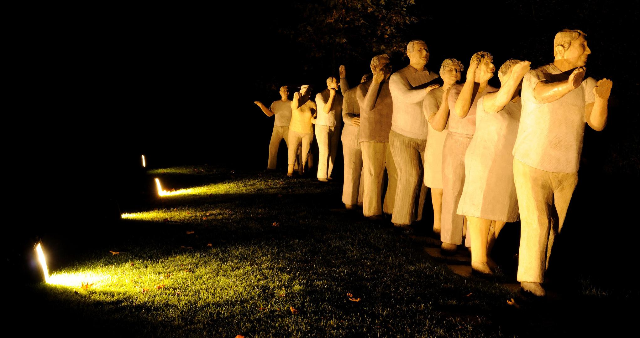 Menschen im Licht