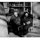 Menschen in Beijing: Rentnerpolizei