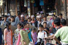 Menschen in Bhaktapur