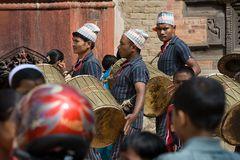 Menschen in Bhaktapur II