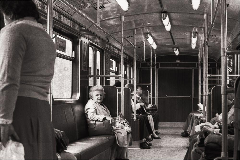 Menschen in der Bahn #1
