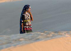 Menschen in der Wüste Thar II
