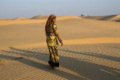 Menschen in der Wüste Thar III
