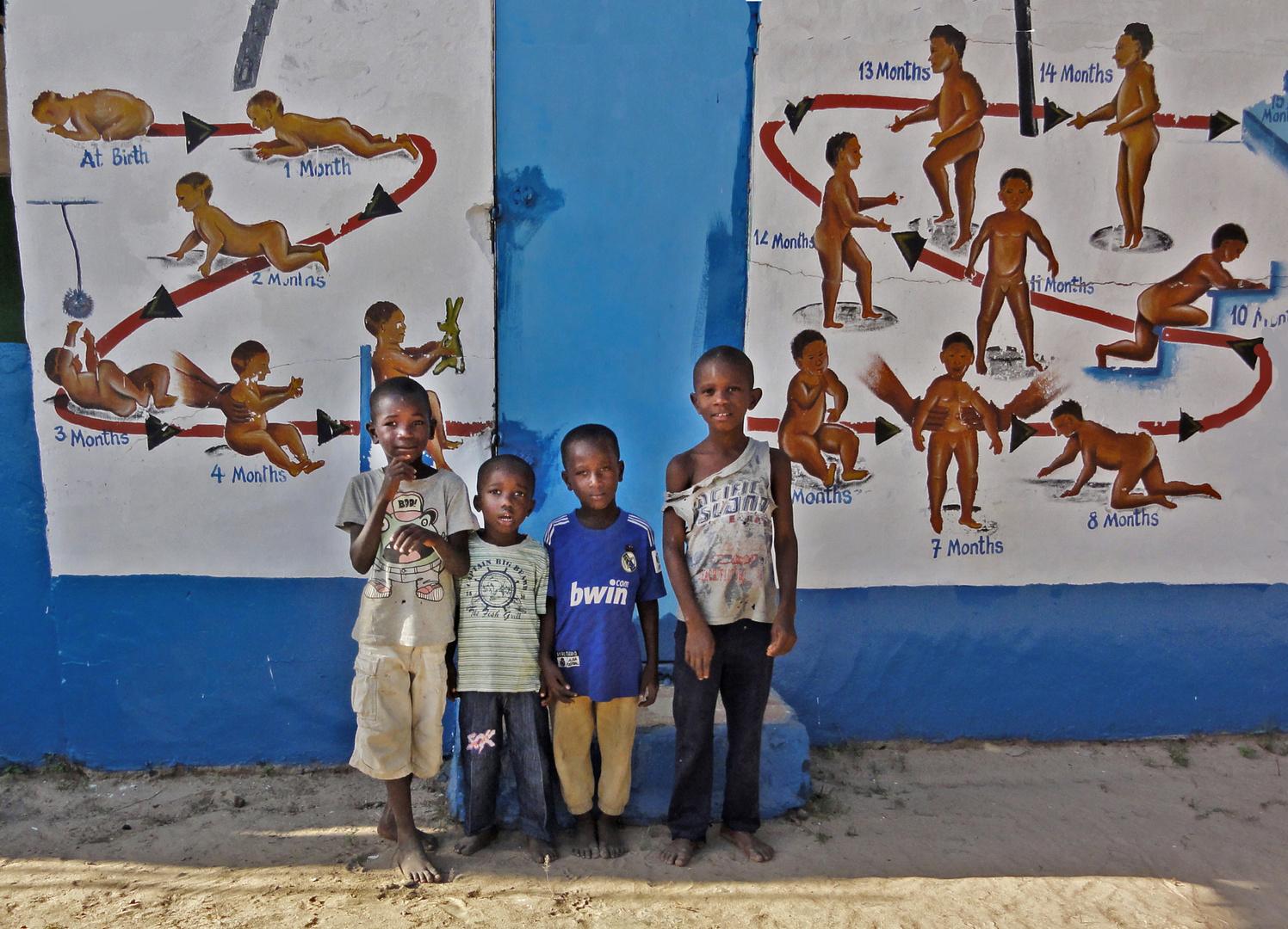 Menschen in Gambia, Westafrika