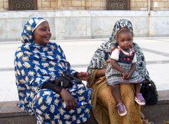 Menschen in Kairo