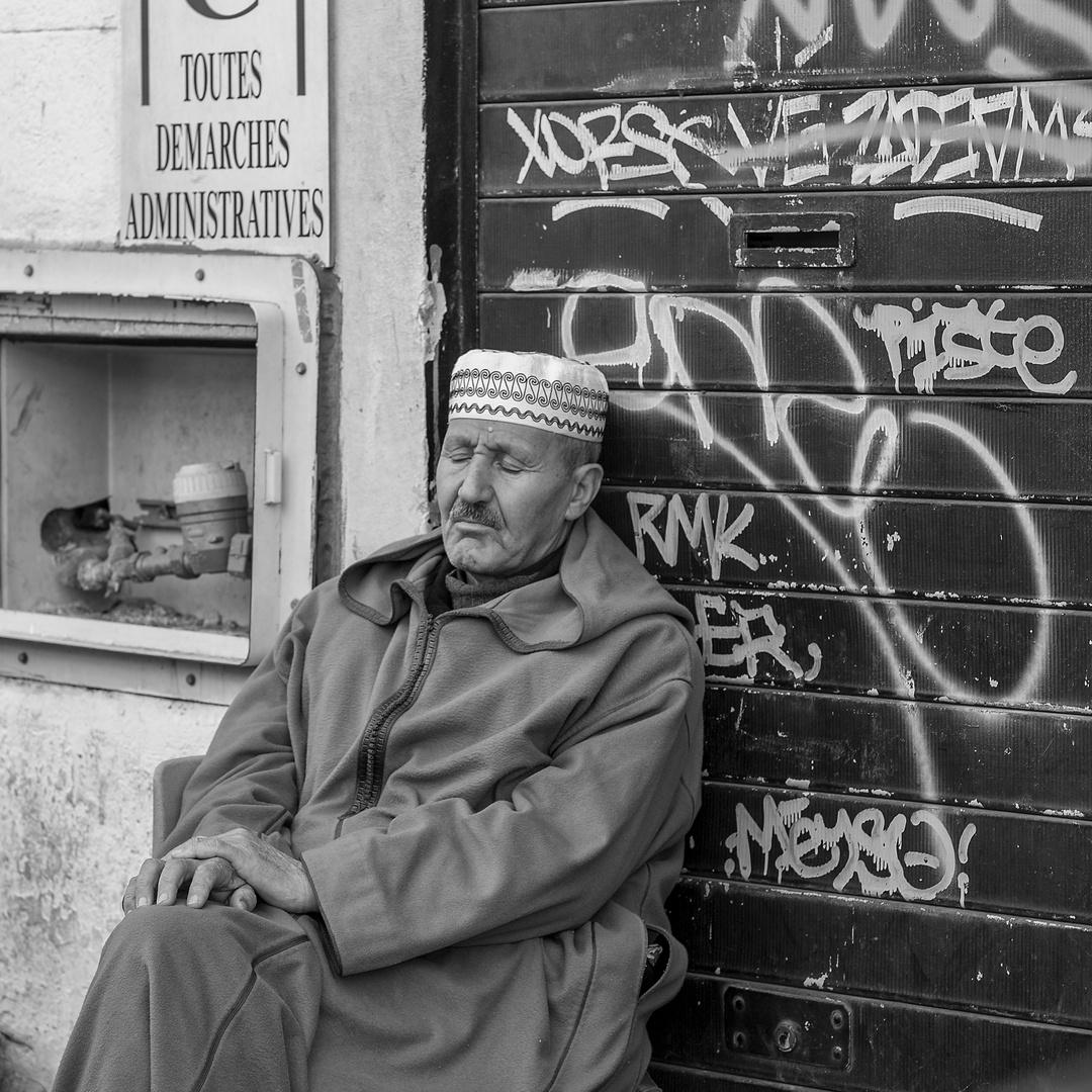Menschen in Marseille 6