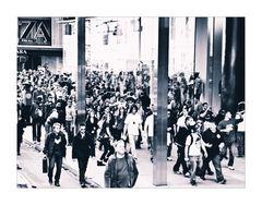 Menschen in New York