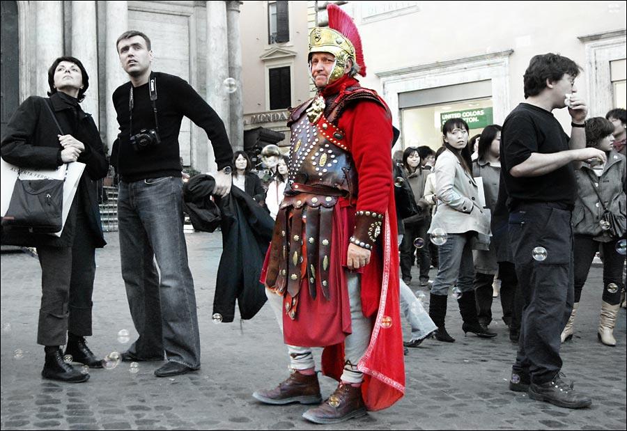 Mensch(en) in Rom