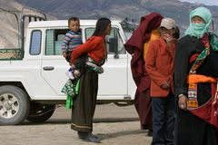 Menschen in Tibet I