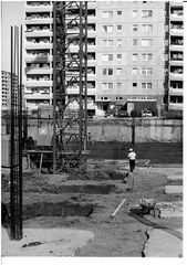 Menschen,Architektur,Baustelle alt Havemann Str.