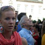 Menschenauflauf auf dem Stephansplatz (2)