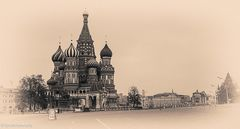 Menschenleer??!! Der Rote Platz in Moskau im Retrolook......#12..2302: 02/50