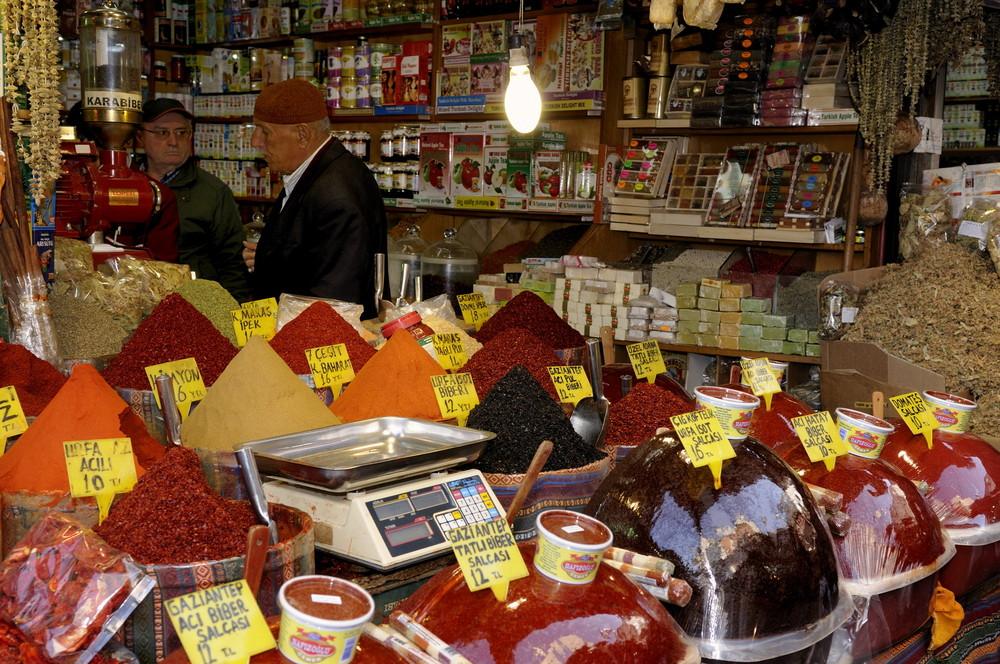 Mercado de las especias