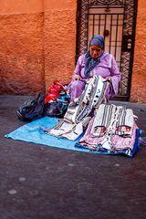 mercatino in strada