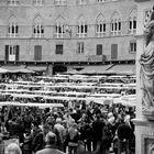 Mercato medioevale in piazza del Campo