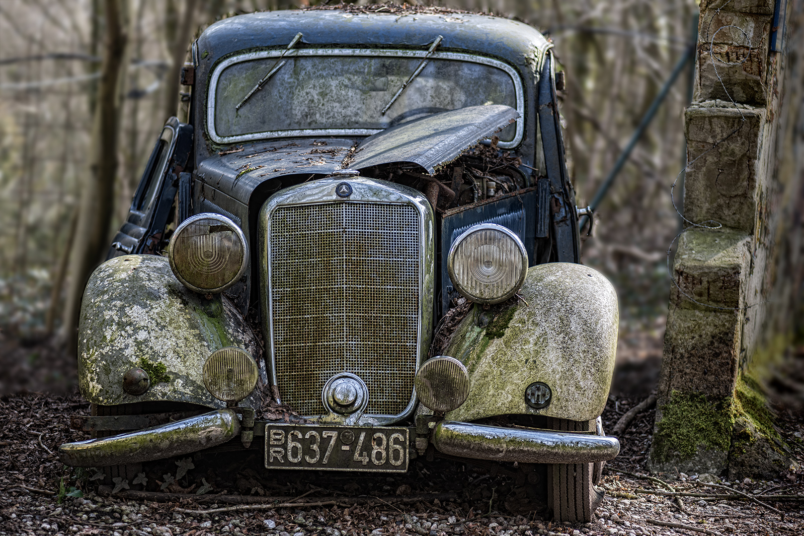 Mercedes 170 V - Baujahr 1950