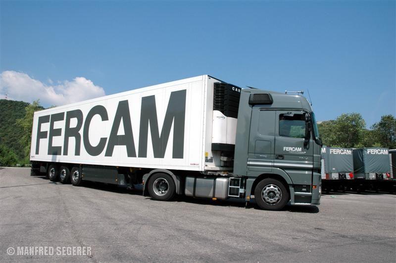 Mercedes-Actros von FERCAM in Bozen (Italien)