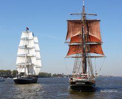 Mercedes Amsterdam und Eye of the Wind
