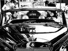 Mercedes auf der Zeche Zollverein