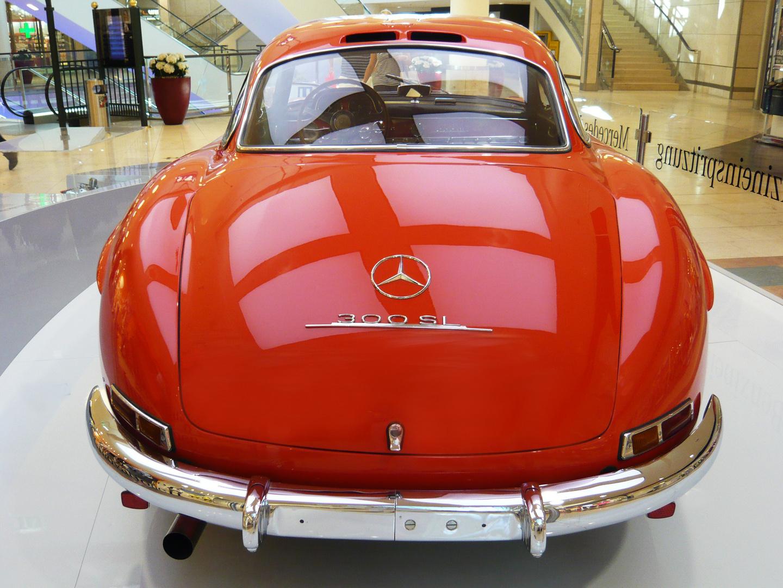 Mercedes-Benz 300 SL Heck