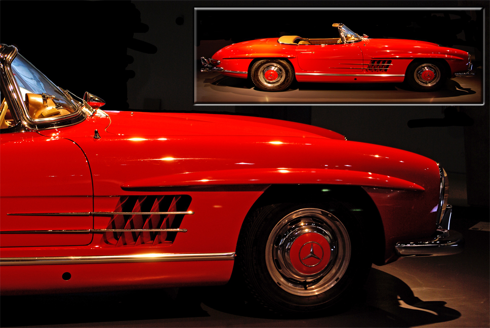 Mercedes Benz 300 SL Roadster 1962