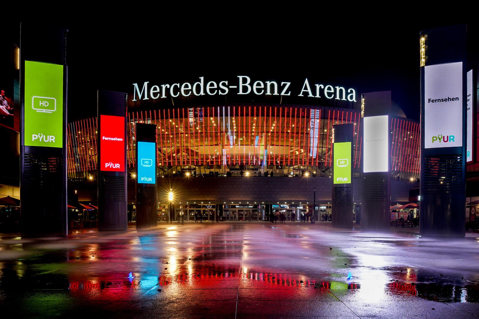 Mercedes-Benz Arena Foto & Bild | architektur, architektur ...