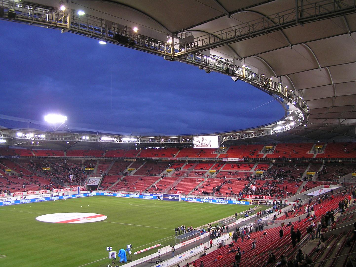 Mercedes-Benz-Arena, Stuttgart (4) Foto & Bild ...