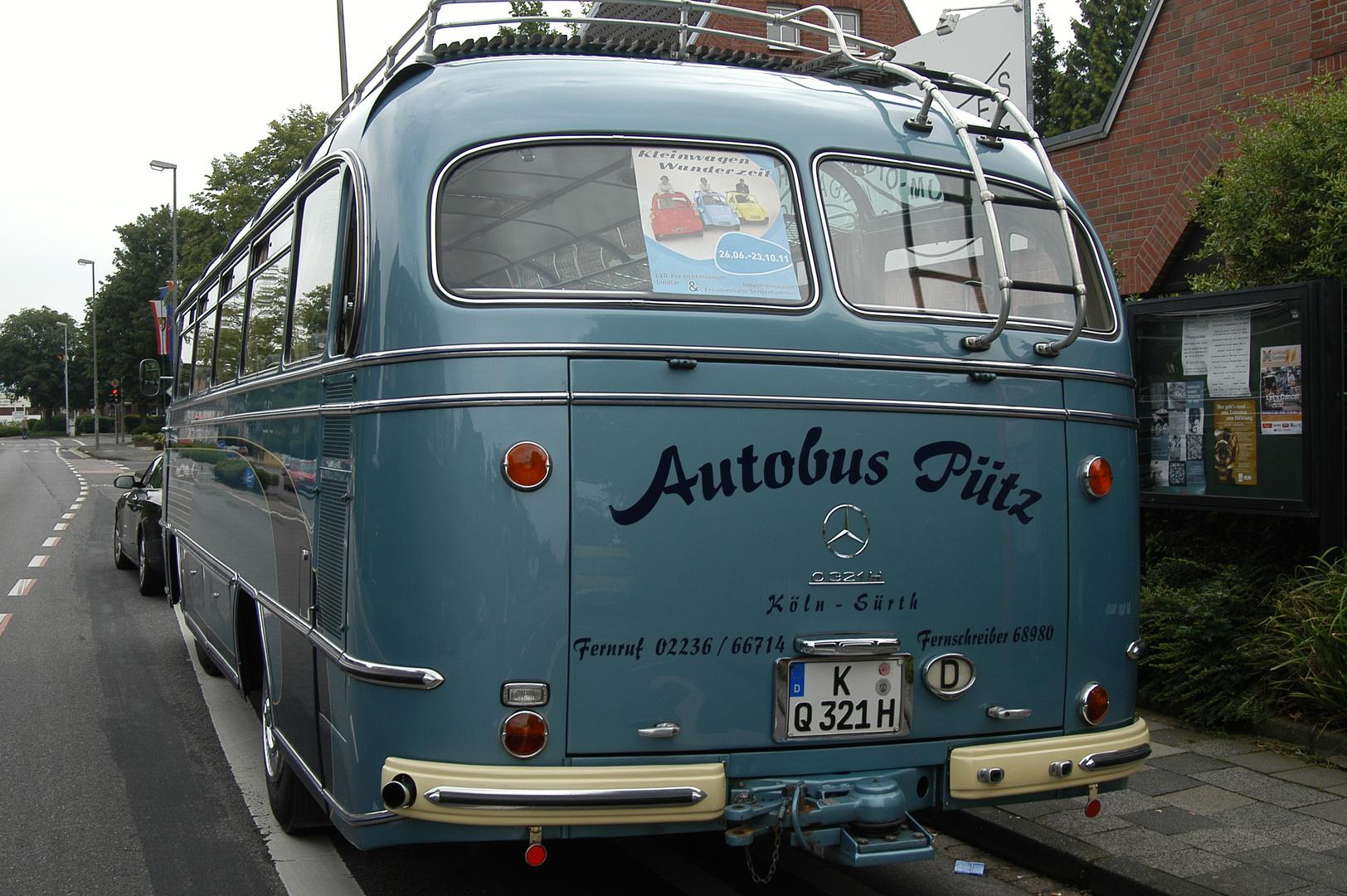 Mercedes Benz Bus 1960.....