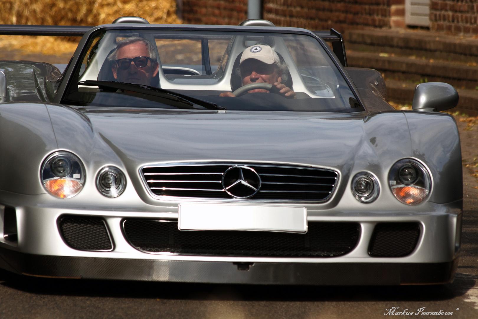 Mercedes-Benz CLK-GTR Roadster (2002)