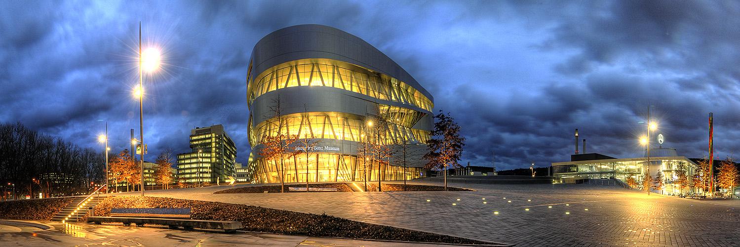 Mercedes-Benz-Museum in Stuttgart (HDR)