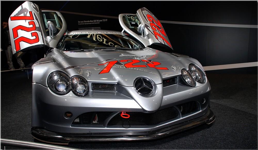 Mercedes Benz SLR McLaren 722 GT