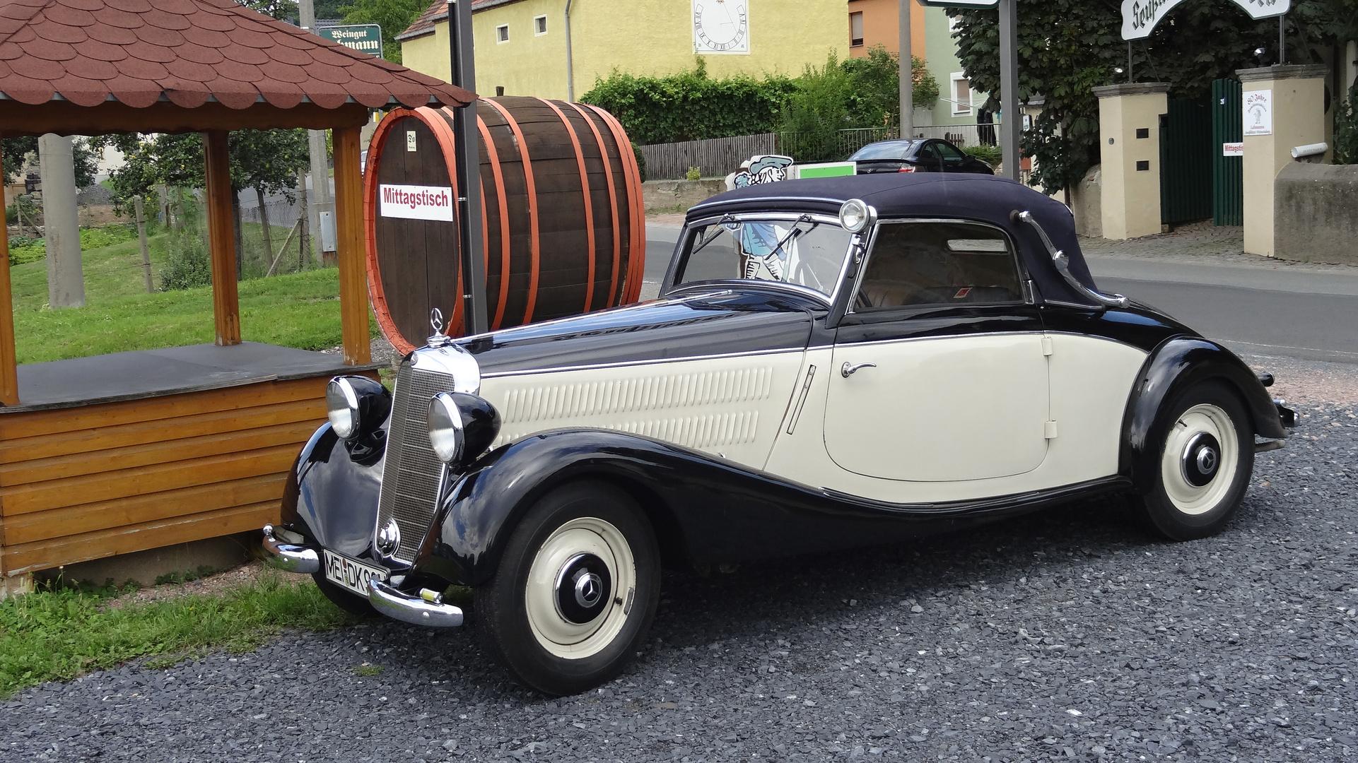 Mercedes in Diesbar Seußlitz