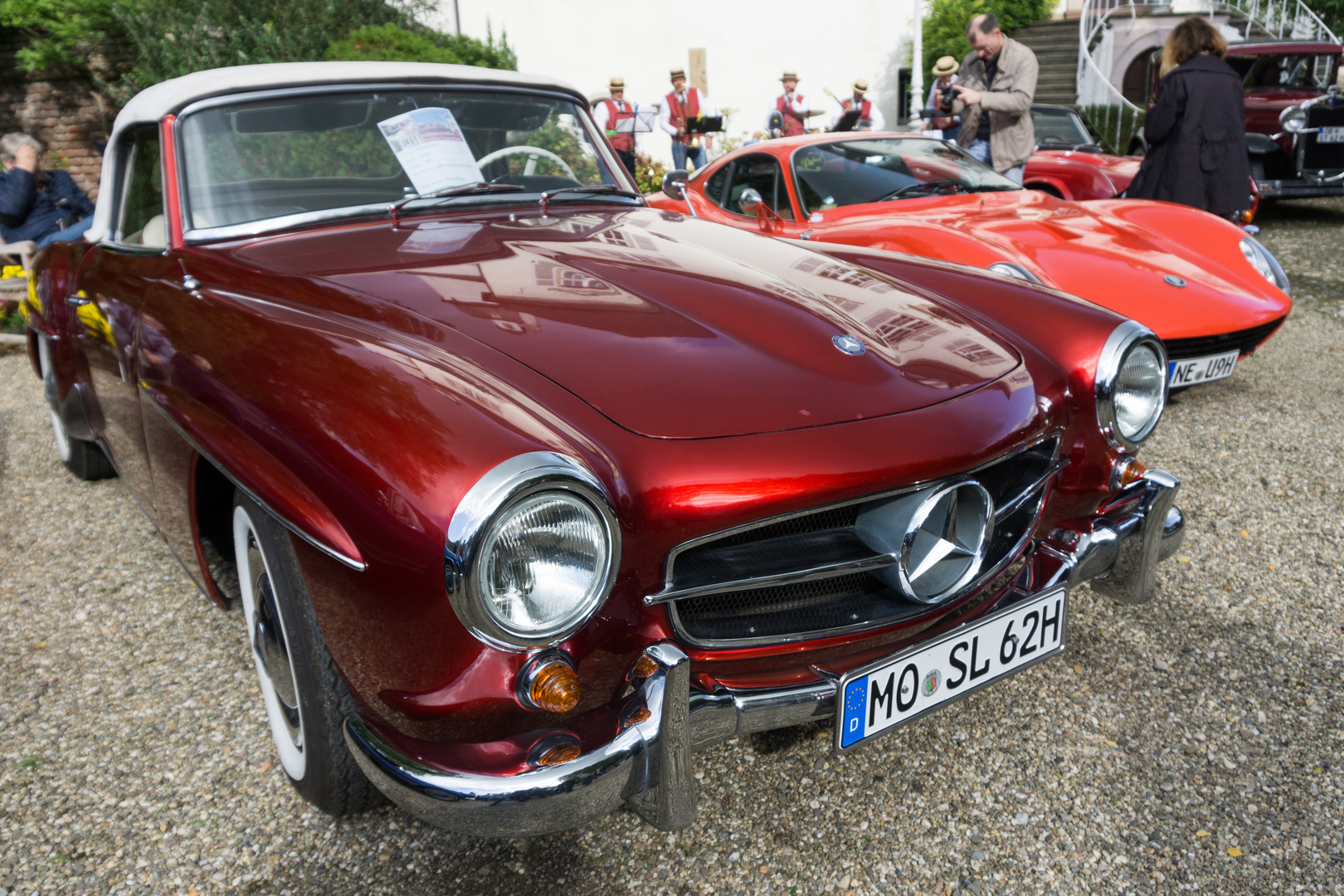 mercedes sl 190 oldtimer foto bild autos zweir der. Black Bedroom Furniture Sets. Home Design Ideas