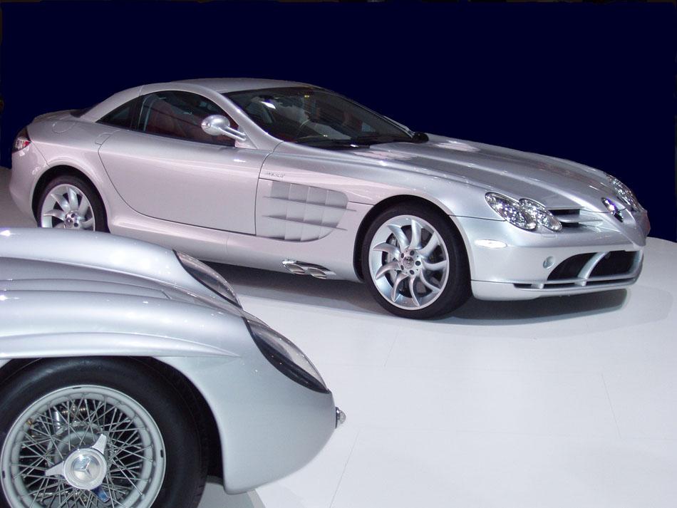 Mercedes SLR gestern und heute