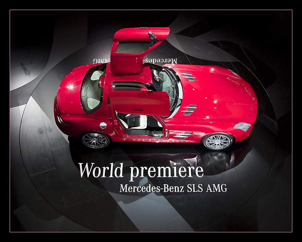 Mercedes SLS AMG - IAA II
