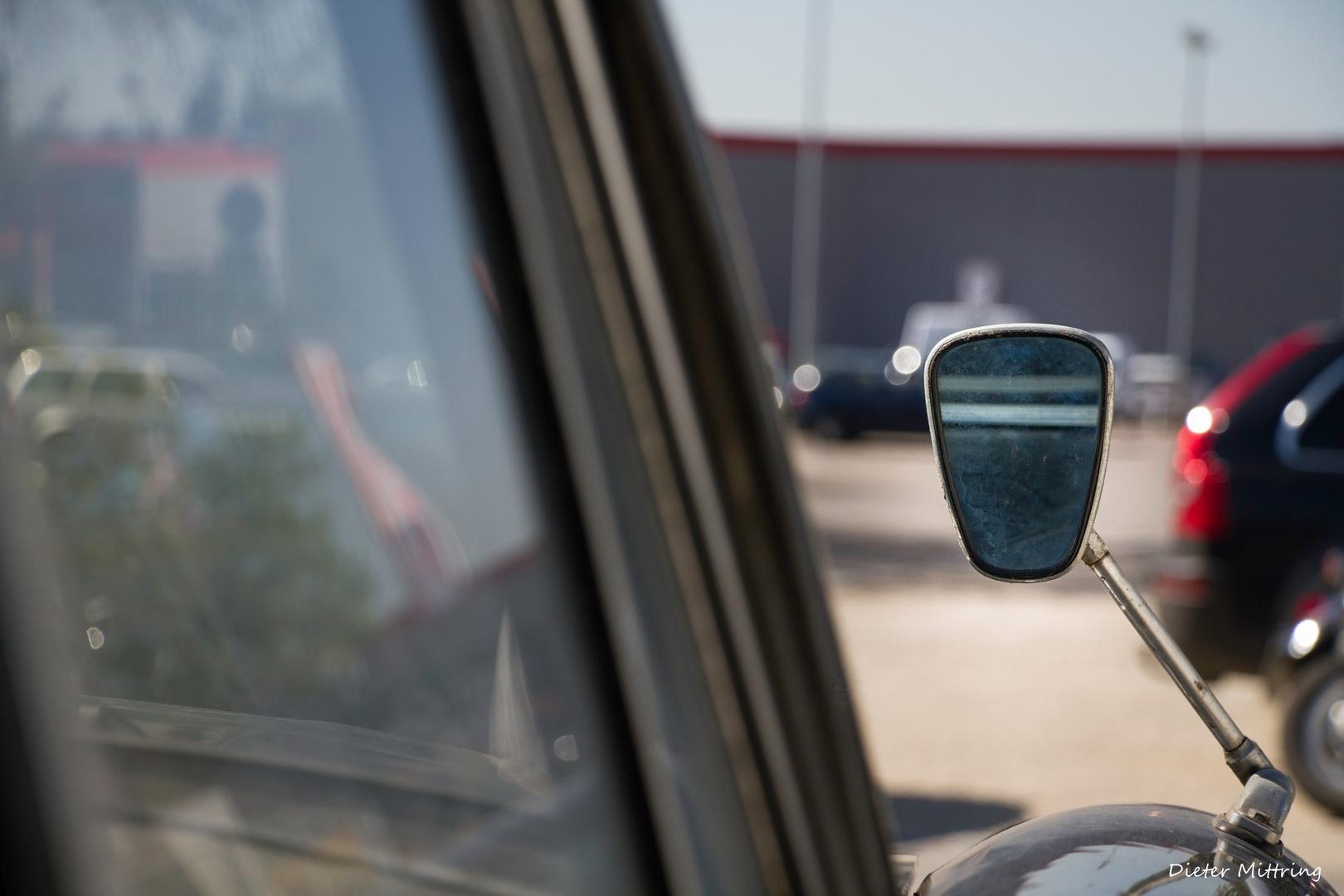 Mercedes Spiegel Auge Foto Bild Projekte Dienstag Ist