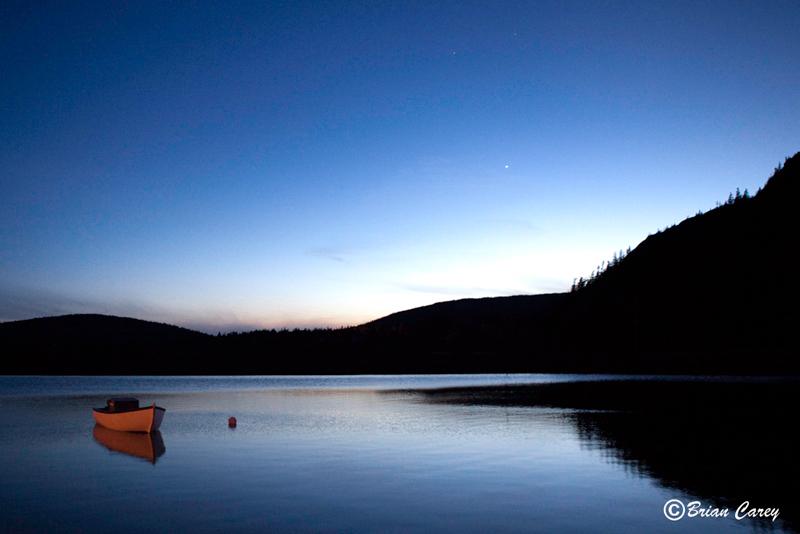Mercury Adorns Blue Lake