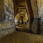 Mergelgruben - der lange Gang