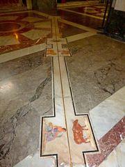 Meridian in der Kathedrale von Palermo