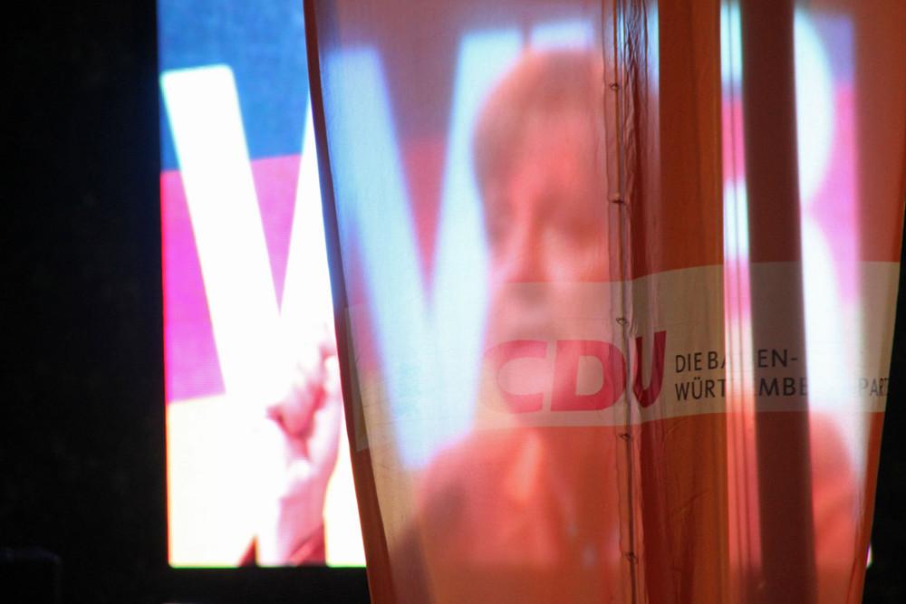 Merkel in Stuttgart 2009 - Nebulös ?!? Ü798K