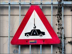 Merkwürdige Verkehrszeichen ...