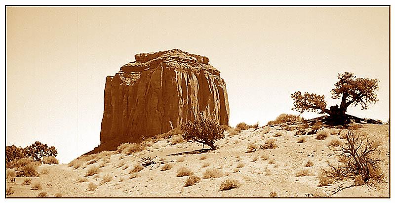 Merrick Butte - Monument Valley Tribal Park, Arizona; USA