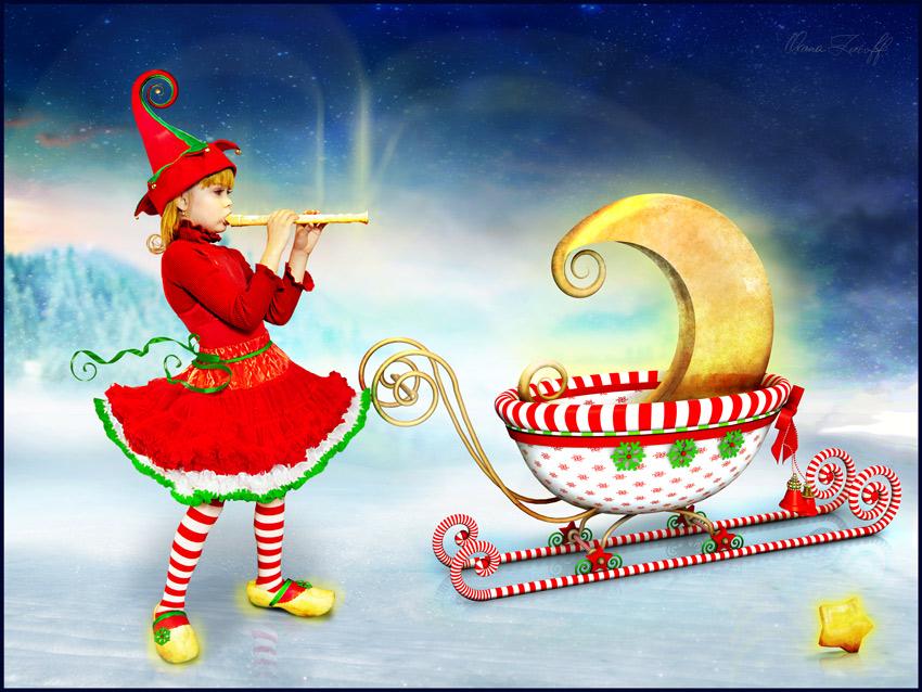 Merry Christmas! Frohe Weihnachten! Feliz Navidad! Joyeux Noël!